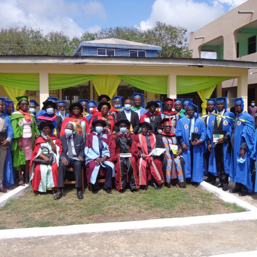 Graduands with Convocation
